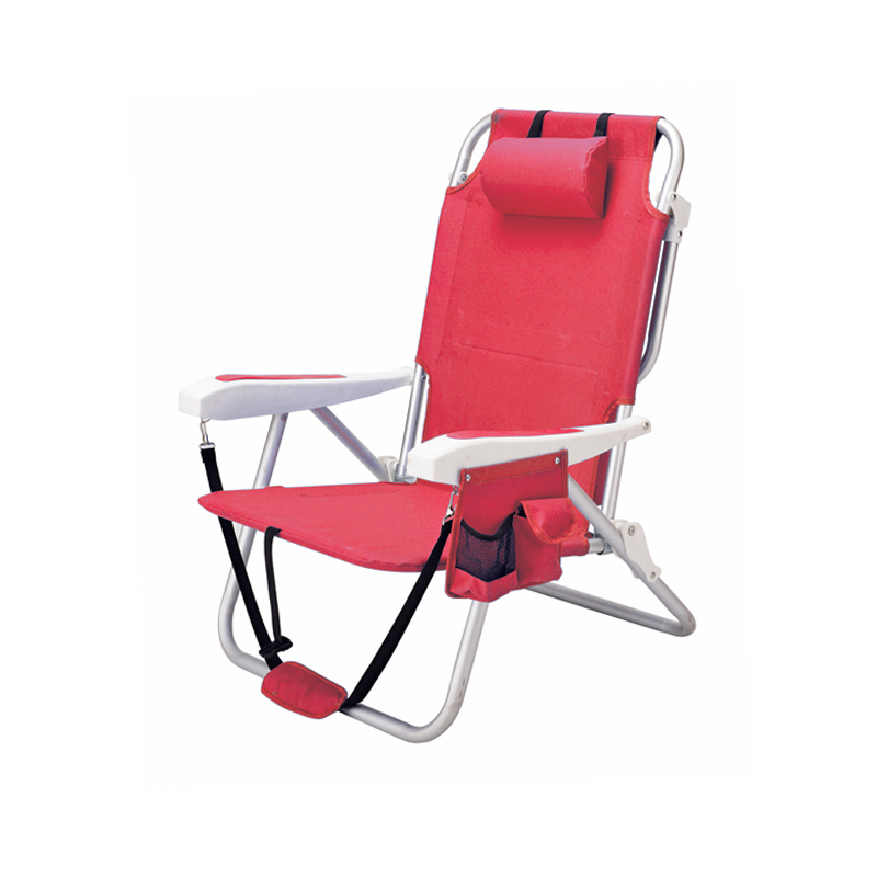 Patio New Design Folding Reclining Backpack Beach Chair With Umbrella