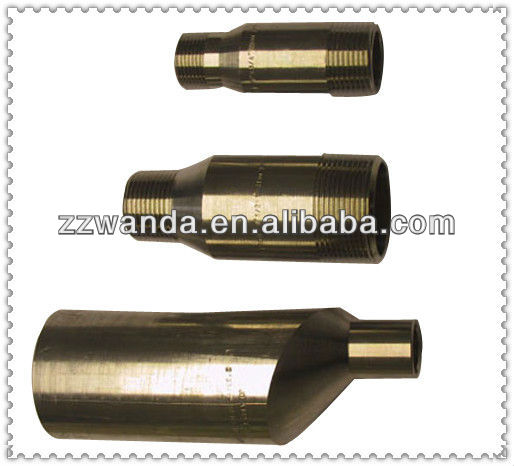 Carbon Steel A234 WPB NPT Threaded SwageNipple Reducing Insert