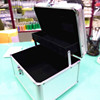 Double Layers Beauty Cosmetics Case With