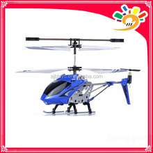 Genuine Syma S107 3CH Mini Metal RC Helicopter With Gyroscope Blue