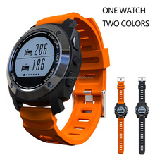 2017 HUPPER Smart Running Watch H9 GPS Sport Smart Watch Color Orange/Black With GPS 1 Watch 2 colors
