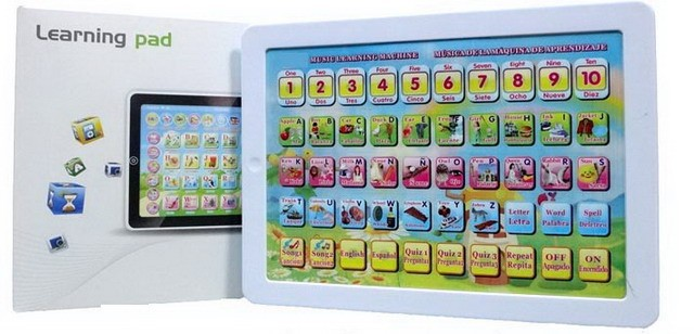 Spanish, English, bilingual learning machine, children's educational toys