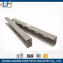 JIS Standard Low Price Galvanized Unistrut Channel