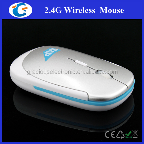 Wireless flat USB Desktop Mouse GET-MRS02