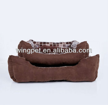 wholesale classic grid pet bed