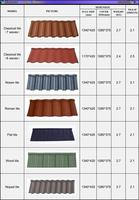 colorful roofing tiles price unique roofing materials terracotta stone coated steel building material