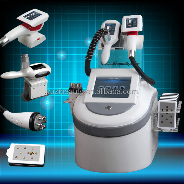 RF Sell Like Hot Cake !! Vacuum Pressure Roller / Frozen Lipo Remove Fat / Laser Weight Loss Machine