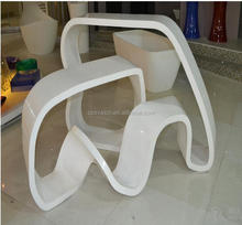 Solid surface reception desk with customized cabinet supplied,solid surface reception desk counter