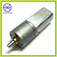 High torque small brushed CW & CCW geared motor dc 6V 12V 5w
