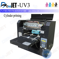 Hot sell 3D flatbed uv printer a3 for tshirt and plastic