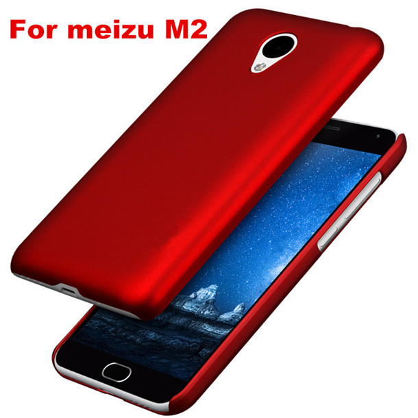 2015 new arrival high quality dull polish hard PC case for meizu M2 ,back cover for meizu M2