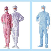 Hot Selling Cleanroom esd disposable smock