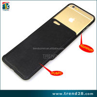 china product new arrival pu leather case for iphone 6 plus