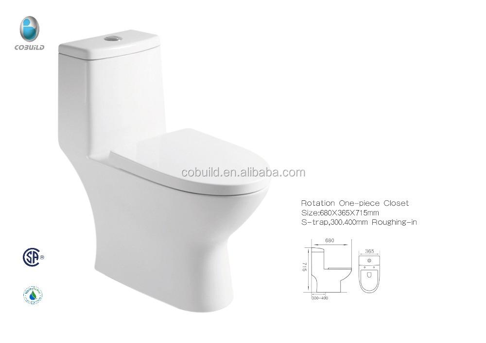 CB 9519 Top Qualität Badezimmer Sanitärkeramik Dual Flusing Wc Einem Stück  Toiletten
