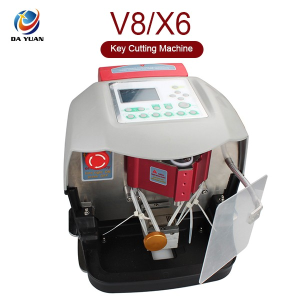 LS04002 Newest Automatic V8 X6 Key Cutting Machine With Free V2015 Database
