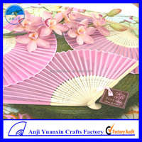 Wedding Hand Fan Lucky Bamboo Decoration