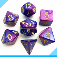 High Quality Polyhedral Dice With Mixing