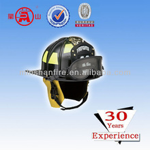 safety helmet with chin strap for fire fighting