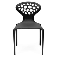 Replica Italian design dining furniture stacking plastic chair models and price