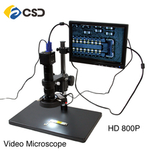 HD electronic display video microscope for mobile phone repair HD 800P VGA