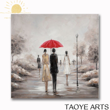 Landscape oil painting wall art painting modern canvas landscape