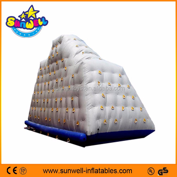 Inflatable floating island, Inflatable Climbing Iceberg,floating inflatable climb iceberg for sale