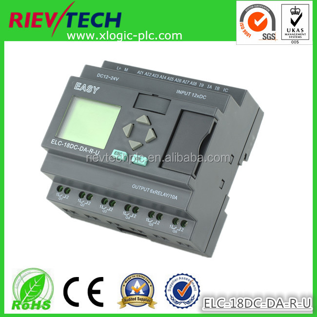 latest and innovative Mini plc programmable logic controller,alternative of Simens LOGO!