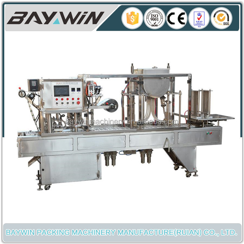 Good Quality Soup Cup Packaging Machine With PLC Touch Screen