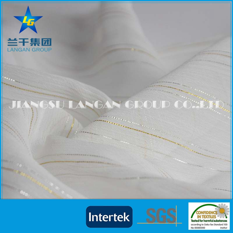 Factory Manufacture woven textured polyester fabric
