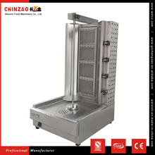 CHINZAO Chinese Market Products 500*615*1040mm Size Stainless Steel Auto Gas Shawarma Grill Machine