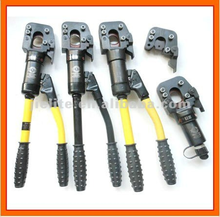 hydraulic armored cable cutter/wire rope cutting tools