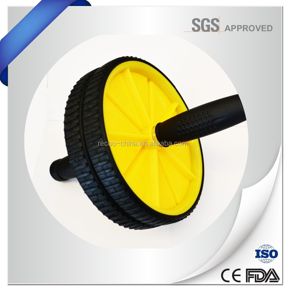 2015 Hot Sale Fitness Exercise Wheel Exercise AB Roller