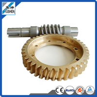 Yushen worm gear speed reuducer, High Precision Brass Spur Gear