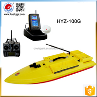 2015 New Single Boat Hull HYZ-100G GPS Tracking Bait Boat For Fishing