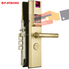 Fingerprint Scanner Optical Sensor Smart Card Remote Door Lock For Outdoor