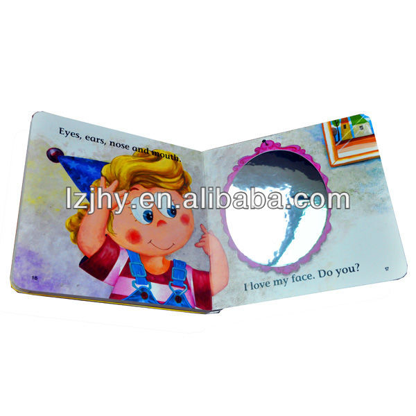 children activity cardboard book printing house