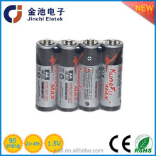 1.5v R6 AA carbon zinc battery UM3 dry battery from Yuyao