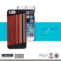 2016 New design Rose Wooden PC Protective Case Cover Blank Colored Wood Case for iPhone Factory Price