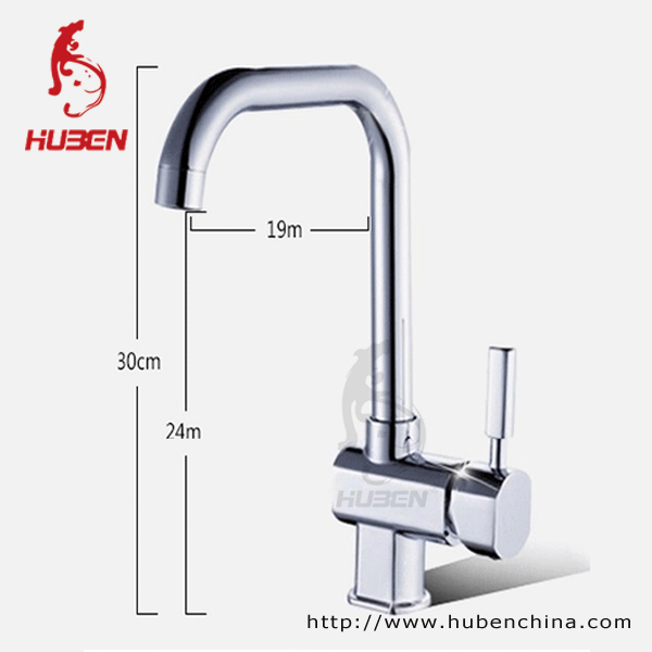 Factory Price Chrome Plated best kitchen mixer sink faucets