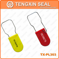 plastic and steel beam plastic padlock seal