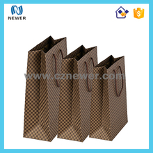 Oem custom recycle branded modern food paper bag for french fry