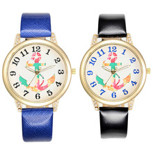 Anchor leather Watch Promotional Gift Watch