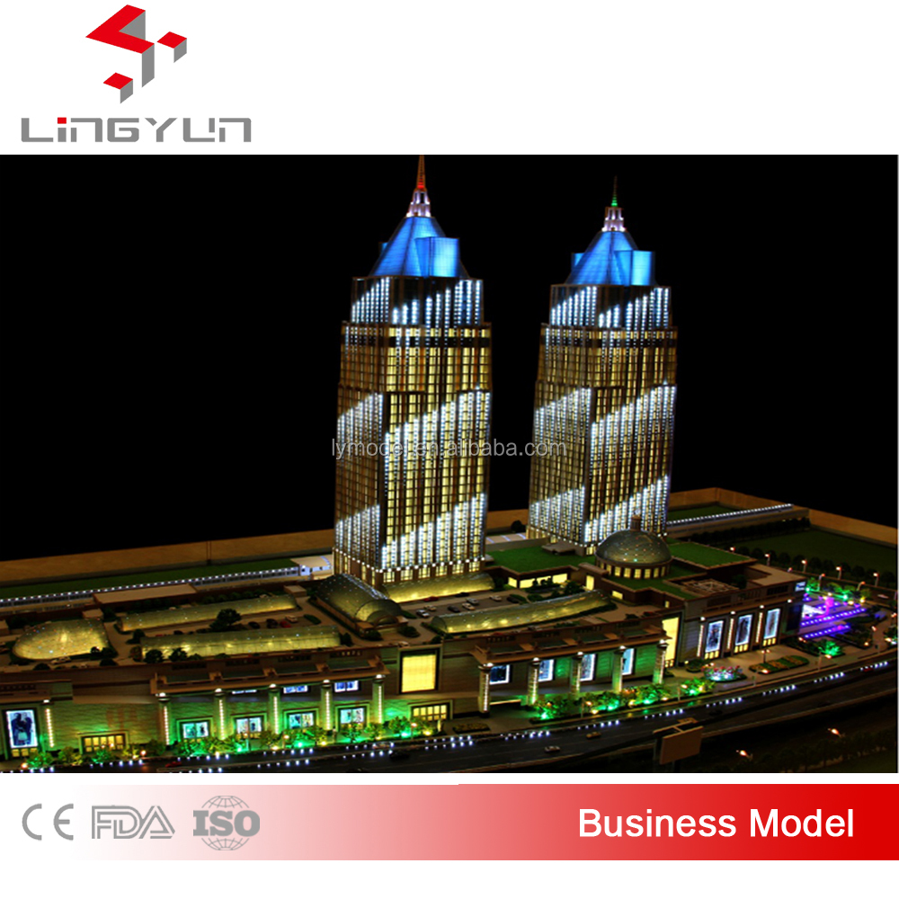 TOP selling Villa model design /custom made scale models/scale model building