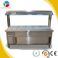 hot bain marie/bain marie food warmer/buffet stainless steel food warmer for sale