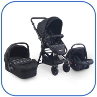 3 in 1 travel system Baby Stroller Pushchair Pram Baby buggy with EN1888:2012 certificate