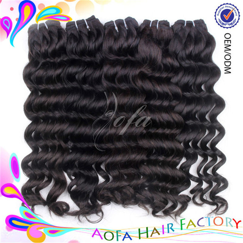 New arrival 5a top quality unprocessed sensational human hair weave wholesale price
