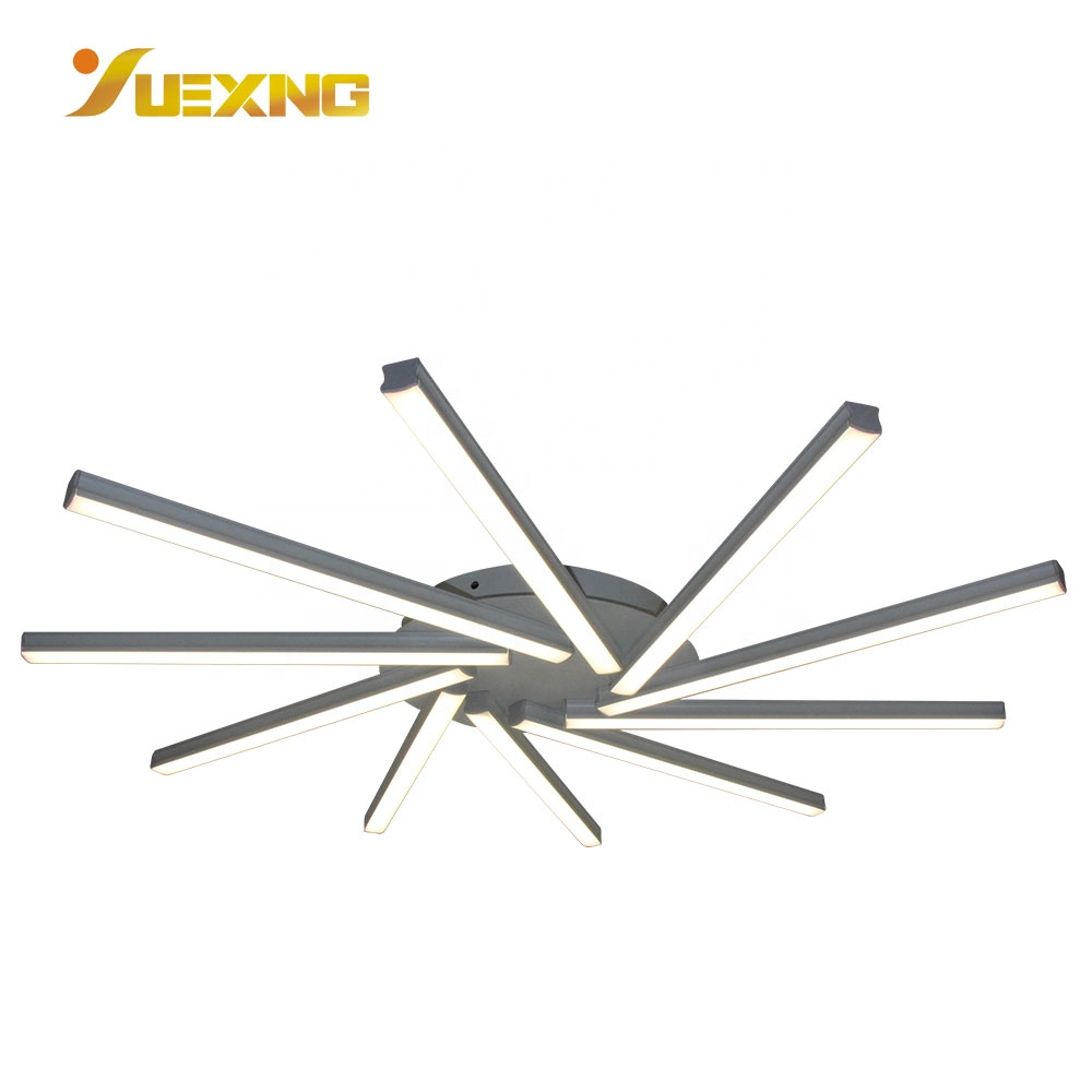 Strip Shaped Wife APP Control mount Smart SMD 52W Led Hotel Ceiling Light Ceiling Lamp