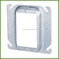 4 Inch Square Electrical Galvanized Steel Junction Box Cover