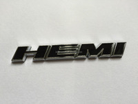 HEMI Challenger adhesive car letters