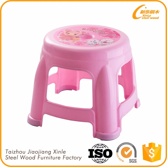 Alibaba Website Durable Using Low Price Round Plastic Stool